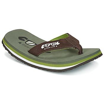 Schoenen Heren Slippers Cool shoe ORIGINAL Kaki / Brown