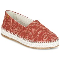 Schoenen Dames Espadrilles El Naturalista SEAWEED CANVAS Rood / Orange