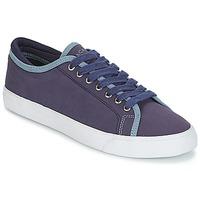 Schoenen Heren Lage sneakers Hackett MR CLASSIC PLIMSOLE Marine