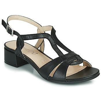 Schoenen Dames Sandalen / Open schoenen Caprice SATIBO Zwart