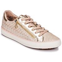 Schoenen Dames Lage sneakers S.Oliver BOOMBO Roze / Gold