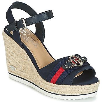Schoenen Dames Sandalen / Open schoenen Tom Tailor CRYSTYA Marine