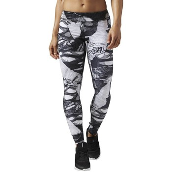 Textiel Leggings Reebok Sport Dance Shredded Punk Noir, Gris, Graphite