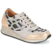 Schoenen Dames Lage sneakers Karston SEMIR Beige / Goud