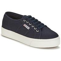 Schoenen Dames Lage sneakers Superga 2730 COTU Marine / Wit