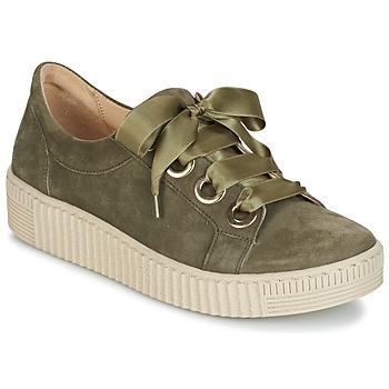 Schoenen Dames Lage sneakers Gabor BOSER Kaki