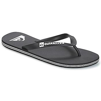 Schoenen Heren Slippers Quiksilver MOLOKAI M SNDL XKKW Zwart