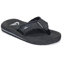Schoenen Kinderen Slippers Quiksilver MONKEY ABYSS YT B SNDL XKKC Zwart