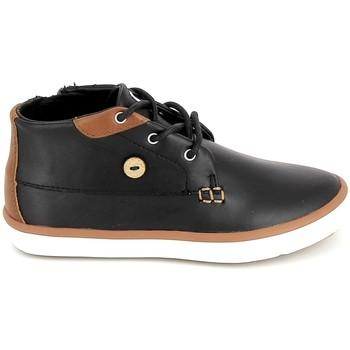 Schoenen Kinderen Hoge sneakers Faguo Wattle Leather BB Noir Zwart