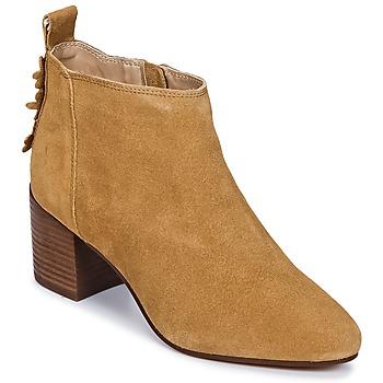 Schoenen Dames Enkellaarzen Esprit CANDY BOOTIE  camel
