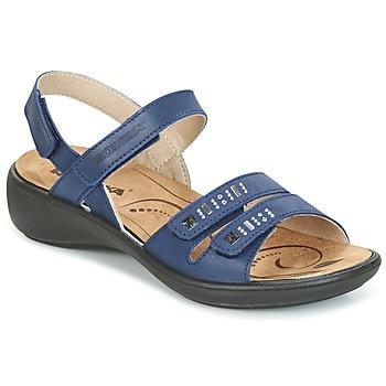 Schoenen Dames Sandalen / Open schoenen Romika IBIZA 86 Blauw