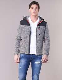 Textiel Heren Sweaters / Sweatshirts Superdry STORM MOUNTAIN ZIPHOOD Grijs