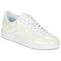 Schoenen Dames Lage sneakers Reebok Classic CLUB C 85 PATENT Wit