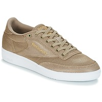 Schoenen Dames Lage sneakers Reebok Classic CLUB C 85 METALLIC Champagne / Taupe / Beige