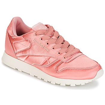Schoenen Dames Lage sneakers Reebok Classic CLASSIC LEATHER SATIN Roze