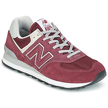 Schoenen Lage sneakers New Balance ML574 Bordeaux