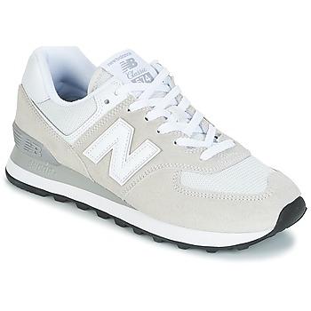Schoenen Dames Lage sneakers New Balance WL574 Wit