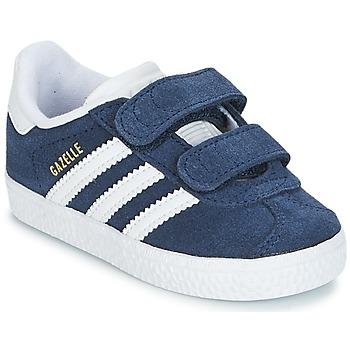 Schoenen Jongens Lage sneakers adidas Originals GAZELLE CF I Marine