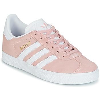 Schoenen Meisjes Lage sneakers adidas Originals GAZELLE C Roze