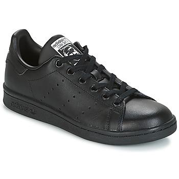 Schoenen Kinderen Lage sneakers adidas Originals STAN SMITH J Zwart