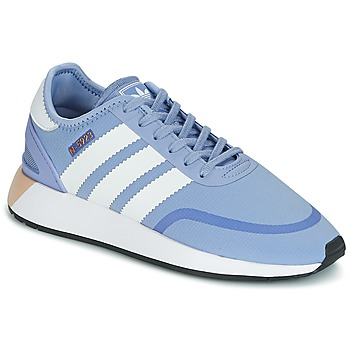 Schoenen Dames Lage sneakers adidas Originals INIKI RUNNER CLS W Blauw
