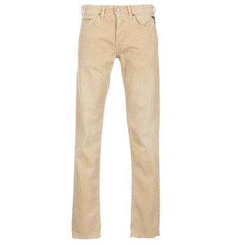Textiel Heren Straight jeans Replay GROVER Beige