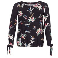 Textiel Dames Tops / Blousjes S.Oliver PUHTEO Zwart