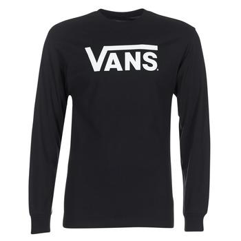 Textiel Heren T-shirts met lange mouwen Vans VANS CLASSIC Zwart