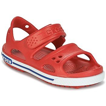 Schoenen Kinderen Sandalen / Open schoenen Crocs CROCBAND II SANDAL PS Rood
