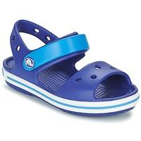Schoenen Jongens Sandalen / Open schoenen Crocs CROCBAND SANDAL KIDS Blauw