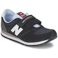 Schoenen Kinderen Lage sneakers New Balance KE420 Zwart / Grijs