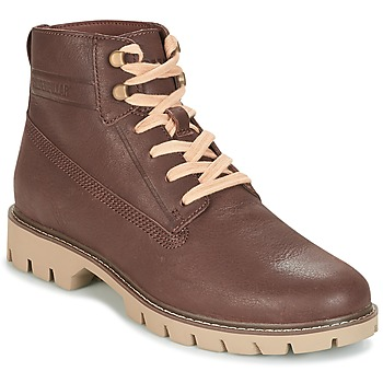 Schoenen Heren Laarzen Caterpillar BASIS Brown