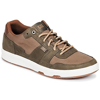 Schoenen Heren Lage sneakers Caterpillar LINE UP CANVAS Brown