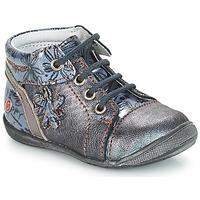 Schoenen Meisjes Laarzen GBB ROSEMARIE Grijs / Blauw