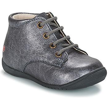 Schoenen Meisjes Laarzen GBB NAOMI Zilver
