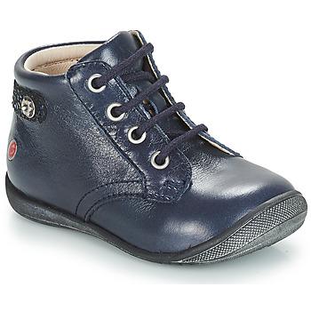 Schoenen Meisjes Laarzen GBB NICOLE Vte / Marine / Dpf / Kezia