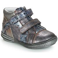 Schoenen Laarzen GBB ROXANE Vnv / Grijs / Bleu-imprime / Dpf / Sabina