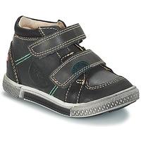 Schoenen Jongens Laarzen GBB ROBERT Ctu / Grijs-zwart / Dpf / Stryke