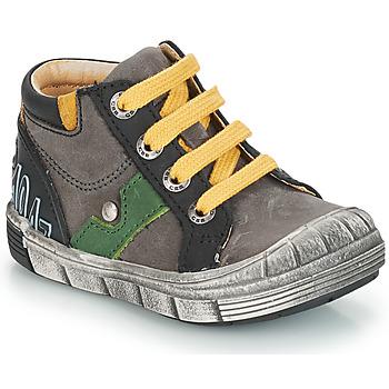 Schoenen Jongens Hoge laarzen GBB REINOLD Nuv / Grijs-zwart / Dpf / 2831