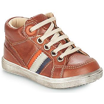 Schoenen Jongens Laarzen GBB ANGELITO Brown