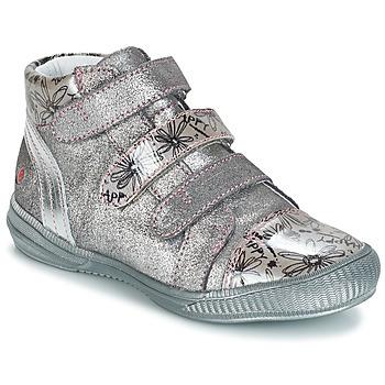Schoenen Meisjes Laarzen GBB RAFAELE Zilver