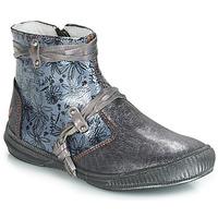 Schoenen Meisjes Laarzen GBB REVA Grijs / Blauw