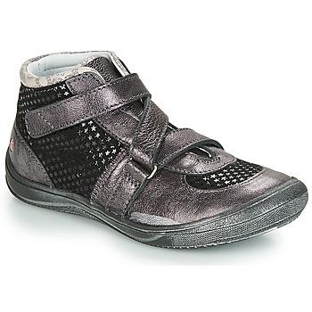 Schoenen Meisjes Laarzen GBB RIQUETTE Vte / Grijs / Dpf / Regina
