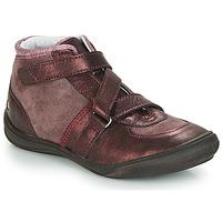 Schoenen Meisjes Hoge sneakers GBB RIQUETTE Brown / Brons