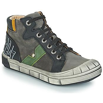 Schoenen Jongens Laarzen GBB RENZO Nuv / Grijs-zwart / Dpf / 2831