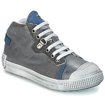 Schoenen Jongens Laarzen GBB RONALD Vtu / Grijs-blaus / Dpf / Terrore