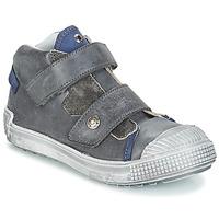 Schoenen Jongens Hoge sneakers GBB ROMULUS Grijs / Blauw