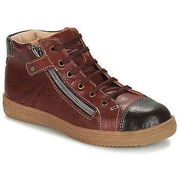 Schoenen Jongens Hoge sneakers GBB NICO Brown