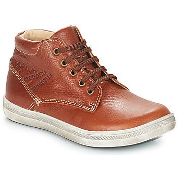Schoenen Jongens Laarzen GBB NINO Brown