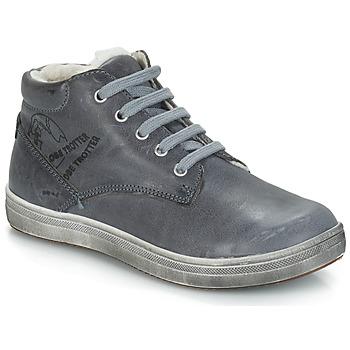 Schoenen Jongens Hoge laarzen GBB NINO Grijs